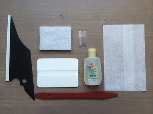 Tintgiant Automotive Tinting Tool Kit For All Sides Rear Window Tg1007