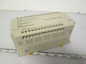 Omron Cpm1 20cdr a Plc Unit 100 240vac 12 Input 8 Output damaged