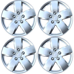 New 16 Wheel Cover Abs Hub Caps 4pc Set For Nissan Altima 07 08