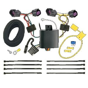 T one 4 way T connector Trailer Hitch Wiring For Ram Promaster 1500 2500 3500