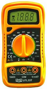 New Uei Test Instruments Utl33t Digital Multimeter Free Shipping