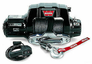 Warn 97600 9 5cti S Self Recovery Winch 9500lb Pull W 100ft Rope