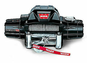 Warn 88990 Zeon 10 Recovery Winch 10000lb Pull W 80ft Cable For Ford Gmc Chevy