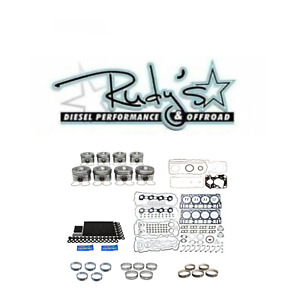 Complete Rebuild Kit W Pistons Arp Studs Gaskets For 2008 2010 Ford 6 4l Diesel