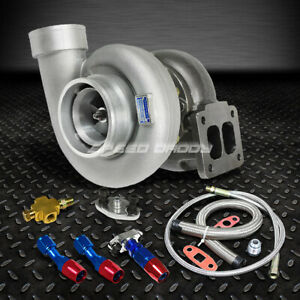 Gt45 800 hp T4 t66 3 5 v band 1 05 A r 92 Trim Turbo Charger oil Feed drain Line