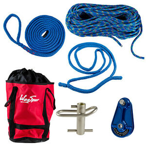 Atlas Rigging Kit Complete Kit For Tree Workers Port A Wrap Rope Bag