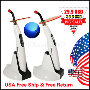 1 Dentista Dental Cordless Led Curing Light Lamp 2300mw Fit Woodpecker Iled 3s