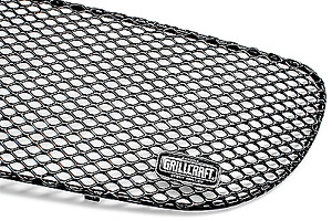 Grillcraft For1305b Black Mx Grille Lower Insert For 99 03 Ford F 150 Lightning