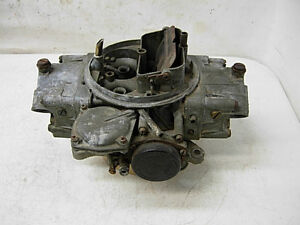1970 3878261 3310 Holley Carburetor Dated 072 396 375hp Chevelle Camaro Nova