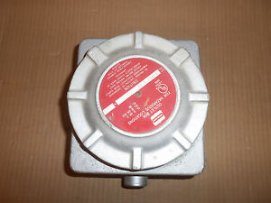 New Crouse Hinds Gub01 1 22 Explosion Proof Outlet Junction Box Enclosure