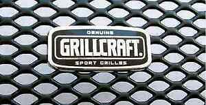 Grillcraft Hon1211b Black Mx Grille Lower Insert For 06 08 Honda Ridgeline