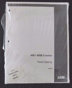 Genuine Case 450 455b Crawler Tractor Parts Manual Catalog Mint Sealed Very Nice