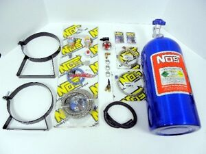 Universal Nos Wet Nitrous System Kit With Gauge 10lb Bottle Fits For Infiniti