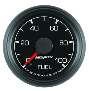 Auto Meter 8463 Ford Factory Match 2 1 16 Fuel Pressure Gauge 0 100 Psi