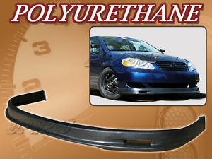 For 05 06 Toyota Corolla T M Poly Urethane Pu Front Bumper Lip Spoiler Body Kit