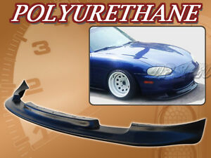 For 99 04 Mazda Miata Type Gv Poly Urethane Pu Front Bumper Lip Spoiler Body Kit