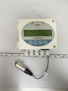 Kimo Ctv 200 bo Air Velocity Air Flow Transmitter 24vac dc no Probe Included