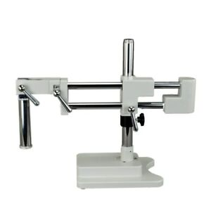 New Stereo Microscope Double arm Boom Stand Heavy Duty