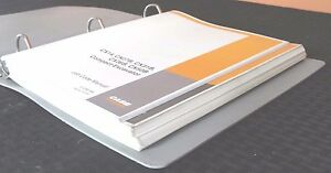 Case Cx14 Mini Crawler Excavator Parts Manual Catalog Job Codes W binder