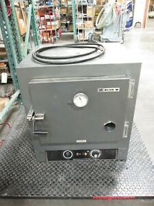 Blue M Ov 18c Laboratory Oven 240vac 8a 1ph 1 9kw 38 To 288 c hole In Door