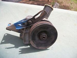1970 80 S Ford Power Steering Pump With Pulley And Bracket Used Parts Read Ad