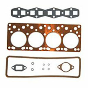 Hs3097 Mf Massey Ferguson Tractor Top Engine Cylinder Head Gasket Set To20 To30
