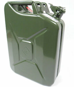 Valpro 20 Liter 5 Gallon Nato Style Jerry Can European Military Spec
