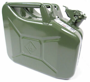 Valpro 10 Liter 2 5 Gallon Nato Style Jerry Can Built To Military Spec