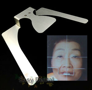 Dental Occlusal Maxillary Casting Jaw Fox Plane Plate Complete Full Denture Tool