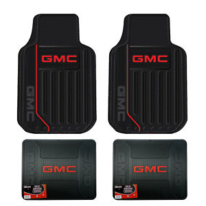 New Gmc Elite Car Truck Front Rear Heavy Duty All Weather Rubber Floor Mats