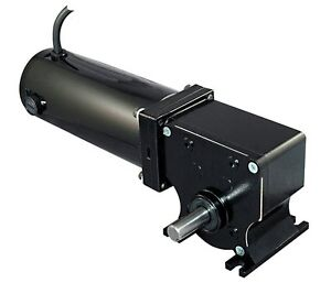 Dayton 12 Volt Dc Right Angle Gear Motor 1 8 Hp 20 Rpm 5laf4