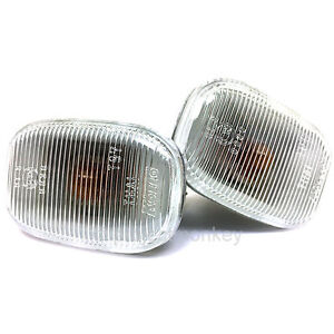 Oem Toyota 93 98 Supra Jza80 Clear Side Markers Sidemarkers Lights Genuine Parts
