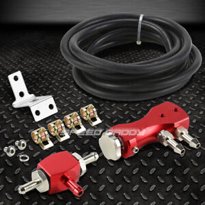 1 30 psi Adjustable Red Manual Turbo Charger Wastegate Bypass Boost Controller