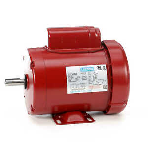 3 4 Hp 1725 Rpm 56 Frame 115 230v Leeson Electric Motor new free Shipping