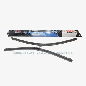 Audi Windshield Wiper Blades Blade Set Bosch Oem 07297 8k1425a