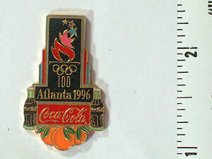Coca Cola Pin Badge 1996 Collector Atlanta Olympic Games Pin   Peaches  (*#10)