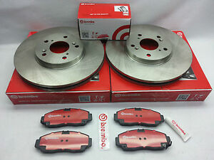 2 brembo Front Disc Brake Disc Pad Set Toyota Camry Avalon Lexues Es350