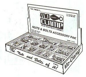 Mo Clamp 5400 Nut Bolt Replacement Pack