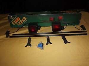 Vintage Old Car Auto Cheiftain Stop Supplementary Lights System In Box Unused