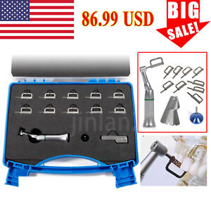 Dental Implant 20 1 Reduction Latch Contra Angle Handpiece Surgical For Nsk Sg20