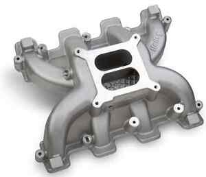 Holley 300 129 Cast Aluminum Mid Rise Intake For Ls Gen Iii Or Iv Engines