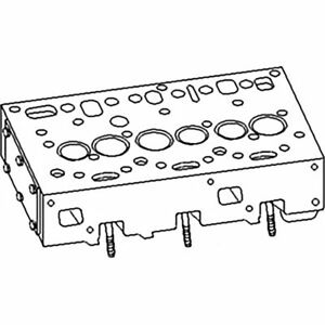 3637486m1 Cylinder Head For Massey Ferguson Tractor 20 31 40 175 180 255 265 275