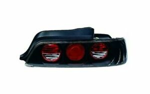 Ipcw Cwt 739b2 Pair Of Bermuda Black Euro Tail Lights For 97 01 Honda Prelude