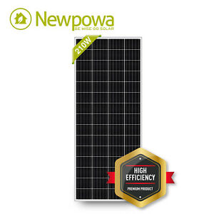 Newpowa 160 Watts 160w Solar Panel 12v Poly Off Grid Battery Charger For Rv Boat
