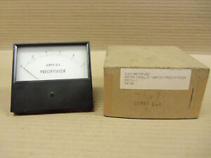 New Triplett Precipitator 85010 l1 85010l1 Panel Meter 0 1 Amp Dc