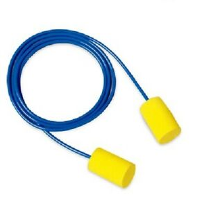 3m E a r Classic Corded Earplugs 200 Count Ear Plugs