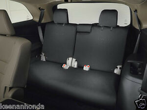 Genuine Oem Honda Pilot 3rd Third Row Seat Cover 2016 2018 Covers