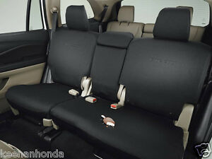 Genuine Oem Honda Pilot 2nd Second Row Seat Cover For Lx Ex 2016 2018 Covers
