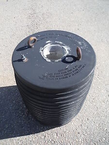 Cherne Pneumatic Test Ball Sewer Pipe Plug 16 Muni Ball 262 137