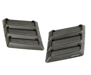 Performance Hood Vents For Jeep Wrangler Tj Jk 1997 2018 17759 09 Rugged Ridge